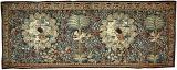 Milflero stiliaus gobelenas su medalionais ir palmėmis. Briugė (?), Flandrija, Pietų Nyderlandai, XVI a. pr.