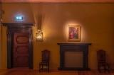 """Barokinis valdovo miegamasis pasipuošė Frančesko Kuradžio (Francesco Curradi, 1570–1661) drobe """"Malda Alyvų kalne"""", kurią Valdovų rūmų muziejui dovanojo kolekcininkas Giorgio Baratti"""