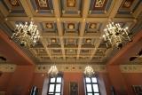 Dekoruotos Didžiosios renesansinės menės lubos 2017 m.