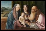 Nicolo Rondinelli apie 1450_1510 Jėzaus pristatymas šventykloje aliejus medis