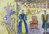Auksė Falkytė, 16 m. Kretingos Jurgio Pabrėžos universitetinė gimnazija, dailės mokytoja Valdonija Karaliūnienė