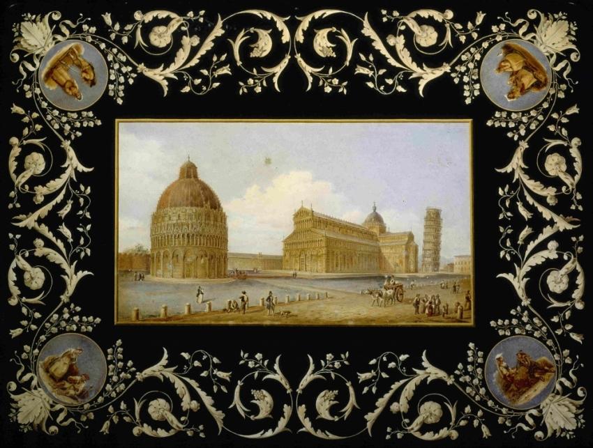 L`ALCHIMIA DEI COLORI. L`arte della scagliola nella collezione ...